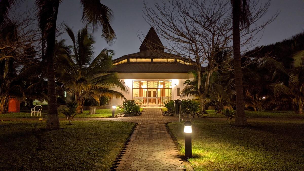 Moderní a zároveň decentní osvětlení zahrady.
