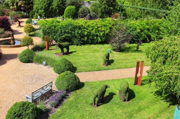 Zahradní architektura má přemíru odlišných podob